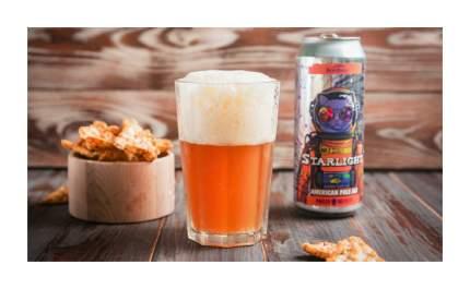 Пиво светлое нефильтрованное Старлайт  0.5 л