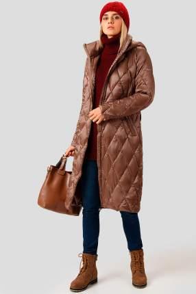 Пальто женское Finn Flare A18-12017 коричневое S