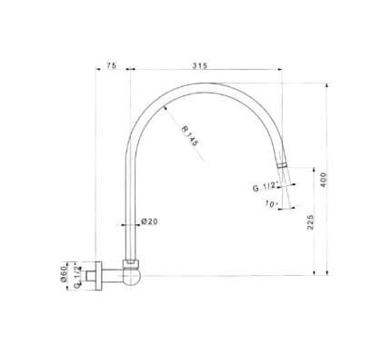 Смеситель для встраиваемой системы Cezares CZR-TDA3-01