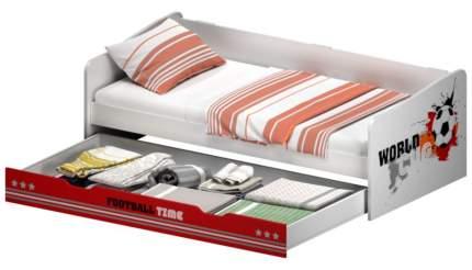 Кровать детская выдвижная Polini Kids fun 4200 футбол, красный