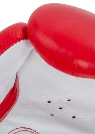 Перчатки боксерские Jabb JE-2014 12 унц красный/белый