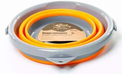 Ведро Tramp TRC-092 складное силиконовое 5 л, оранжевый