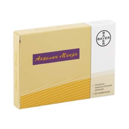 Анжелик микро таблетки, покрытые пленочной оболочкой 0,25 мг+0,5 мг 28 шт.