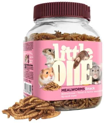 Лакомство для крыс, мышей, песчанок, хомяков Little One улучшение пищеварения, 70г