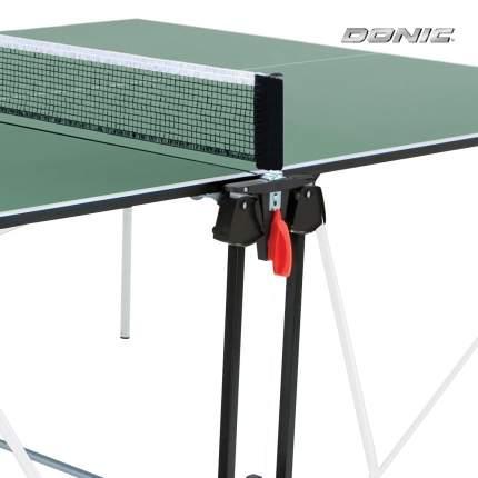 Теннисный стол Donic Indoor Roller Sun зеленый, с сеткой