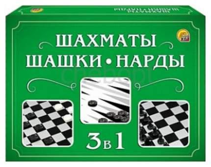 Игра настольная Рыжий кот Шахматы, Игра настольная Рыжий кот Шашки, нарды