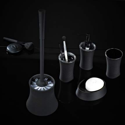 Дозатор для жидкого мыла Tower черный