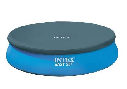 Тент для надувного бассейна intex easy set pool, диаметр 305 см, арт, 28021, Интекс