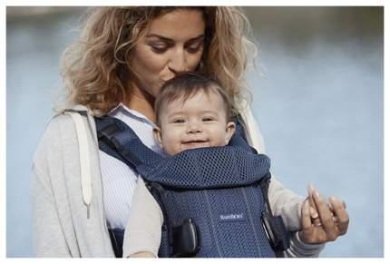 Рюкзак для переноски ребенка BabyBjorn One Mesh Темно-синий