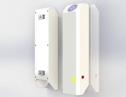 Бактерицидный облучатель- рециркулятор Chronos 2х15 30Вт белый