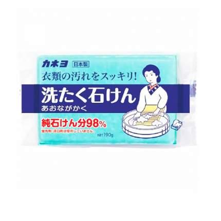 KANEYO 98% жирных кислот Хозяйст. мыло для удаления загрязнений с воротников 190 г