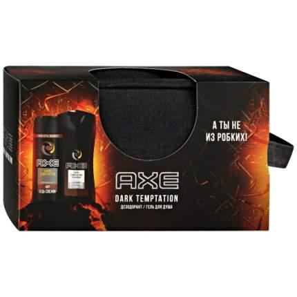 Набор для гигиены Axe Dark Temptation Подарочный Дезодорант, 150 мл + Гель для душа, 250мл