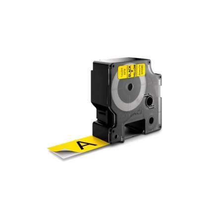 Картридж для термопринтера DYMO D1 черный/желтый, оригинал (S0720980)