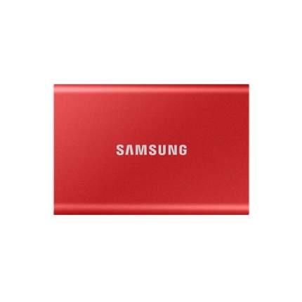 Внешний диск SSD Samsung T7 2TB Red (MU-PC2T0R/WW)