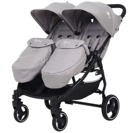 Коляска для близнецов Rant BiPLANE Trends RA150 grey