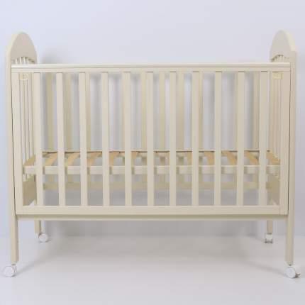 Кроватка Топотушки Дарина-1 слоновая кость, 120х60