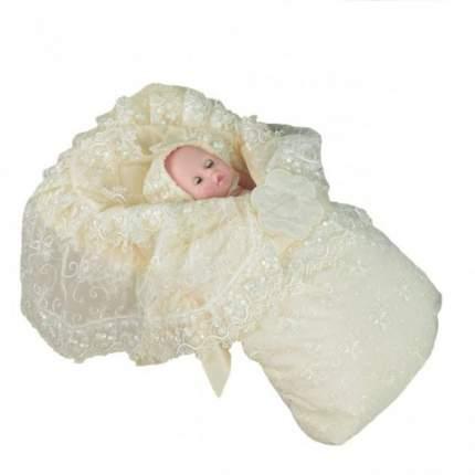 Конверт-одеяло на выписку Топотушки Мой Ангел бежевый