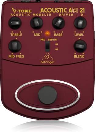 Эмулятор усилителей для акустических инструментов Behringer Acoustic Modeler ADI21