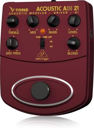 Эмулятор усилителей для акустических инструментов ADI21 Acoustic Modeler
