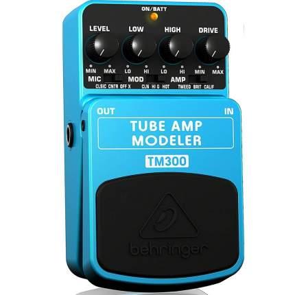 Эмулятор ламповых усилителей Behringer TM300 Tube Amp Modeler