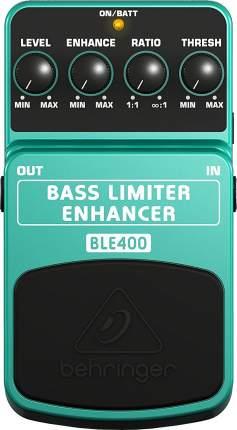 Педаль limiter/enhancer для бас гитары Bass Limiter Enhancer BLE400