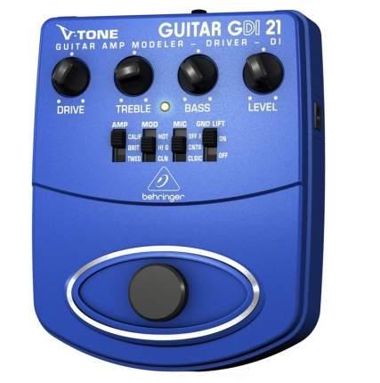 Педаль моделирования гитарных усилителей V-TONE Guitar GDI21