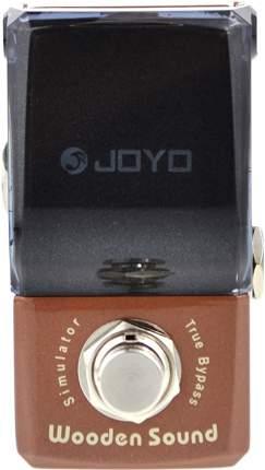 Педаль эмулятор акустической гитары Joyo JF-323 Wooden Sound Acoustic Simulator