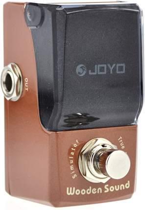 Педаль эмулятор акустической гитары JF-323 Wooden Sound Acoustic Simulator