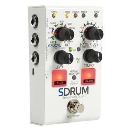 Гитарная педаль, эмулятор барабанной установки Digitech SDRUM