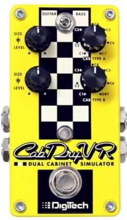 Гитарная педаль эффектов CabDryVR
