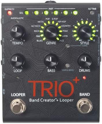 Гитарная педаль, автоаккомпаниатор + лупер TRIO+ BAND CREATOR Digitech Pedal with Looper