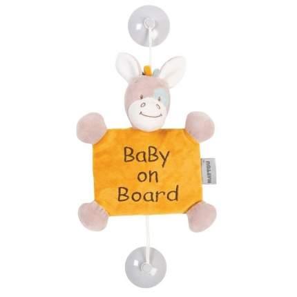 Знак автомобильный Nattou Baby on board Tim & Tiloo Лошадка
