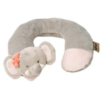 Подушка-подголовник Nattou Neck pillow Adele & Valentine Слоник
