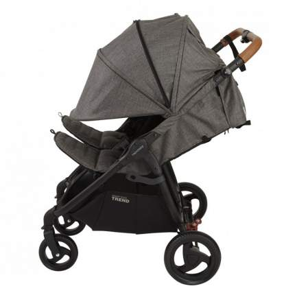 Коляска для двойни Valco Baby Snap Duo Trend Charcoal