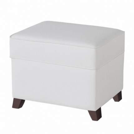 Пуф для кресла-качалки Micuna Foot rest chocolate/white, искусственная кожа