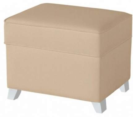 Пуф для кресла-качалки Micuna Foot rest white/beige, искусственная кожа