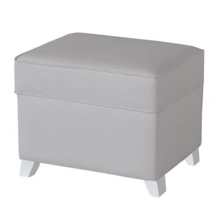 Пуф для кресла-качалки Micuna Foot rest white/grey, искусственная кожа