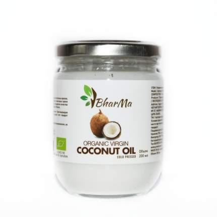 Кокосовое масло BharMa Virgin Organic 200 мл