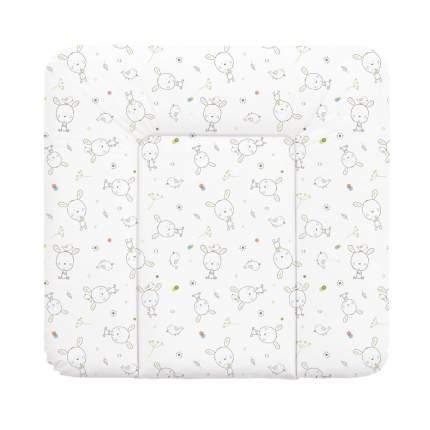 Матрас пеленальный Ceba Baby Dream Roll-over white на комод, 70x75 см