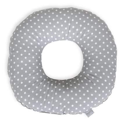 Подушка-круг Ceba Baby White dots on grey послеродовая