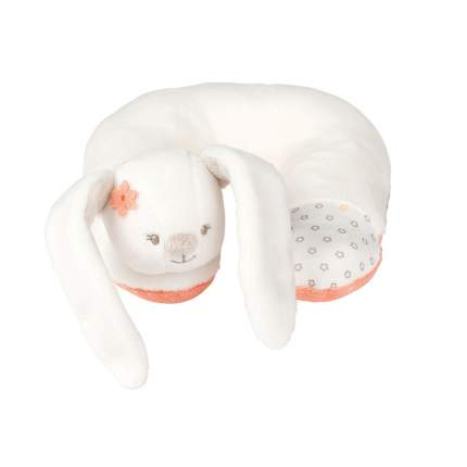 Подушка-подголовник Nattou Neck pillow Mia & Basile Кролик