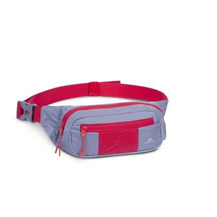 RIVACASE 5215 grey/red поясная сумка для мобильных устройств