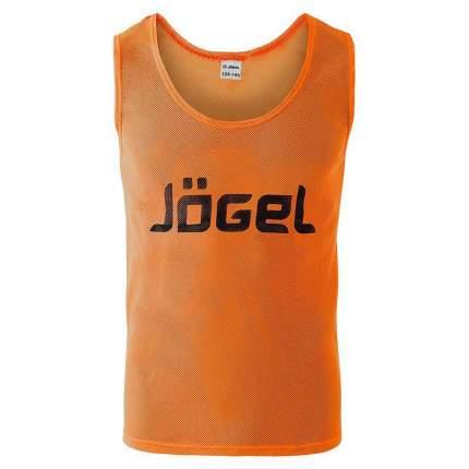 Манишка Jogel JBIB-1001, оранжевый, M INT