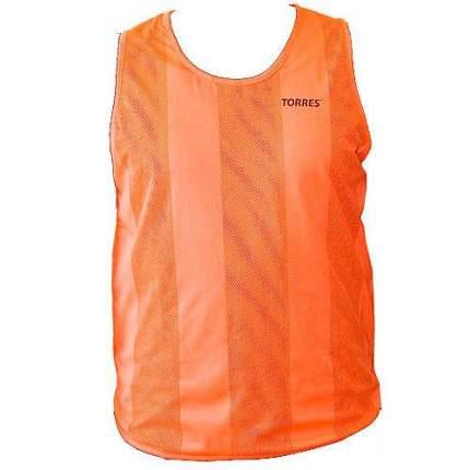 Майка футбольная Torres Training bib TR11045, оранжевый/зеленый, M/L/XL INT