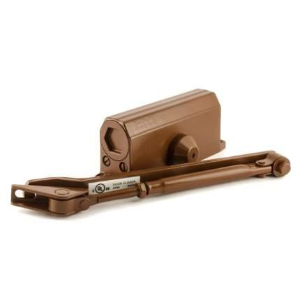 Доводчик дверной НОРА-М 2S морозостойкий (от 25 до 50 кг) - Коричневый