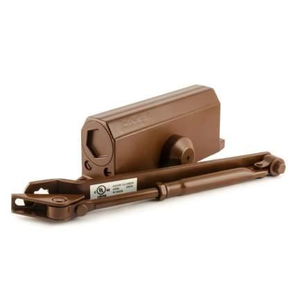 Доводчик дверной НОРА-М 3S мал. морозостойкий (от 50 до 80 кг) - Коричневый