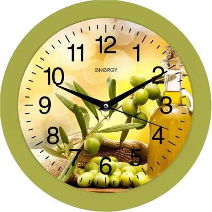 Часы настенные Energy EC-100 Оливки, 27.5х3.8см