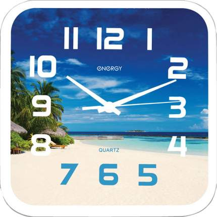 Часы настенные Energy EC-99 Пляж, 24,5х3,9см, 9472