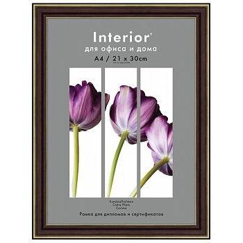 Фоторамки для фотографий Interior Office 288/102 21х30 карельская береза