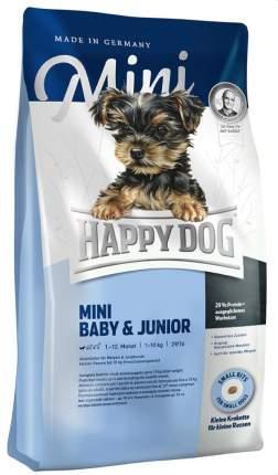 Сухой корм для щенков Happy Dog Supreme Baby&Junior Mini, для мелких пород, птица, 0,3кг